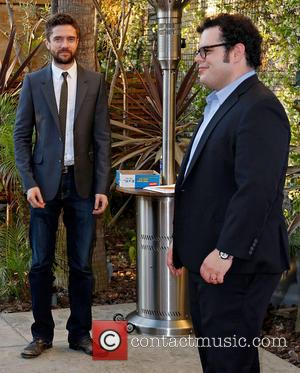 Topher Grace and Josh Gad