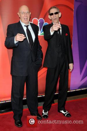 Dann Florek and Richard Belzer