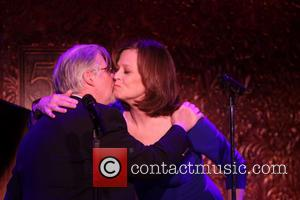 Christopher Durang and Sigourney Weaver