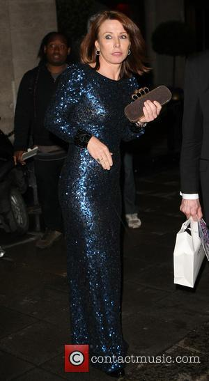 Kay Burley - Sony Radio Academy Awards held at Grosvenor House - Departures - London, United Kingdom - Monday 13th...