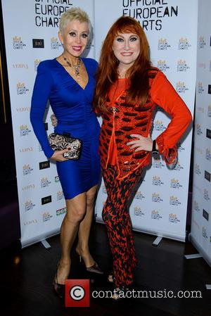 Sally Farmiloe and Rose Marie - Official European Chart Launch Party at JuJu - Arrivals - Tuesday 14th May 2013