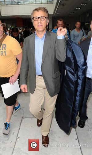Christoph Waltz - Celebrities arrive at Nice airport ahead of the 66th Annual Cannes Film Festival - Nice, France -...