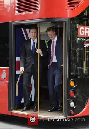 Prince Harry and David Cameron