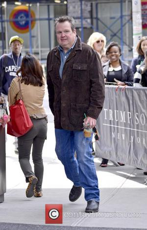 Eric Stonestreet - Celebrities from ABC's 'Modern Family' seen arriving at their hotel - New York City, New York ,...