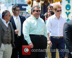 Prince Harry, New Jersey Governor Chris Christie and Jersey Shore