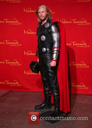 Thor Wax Figure - Madame Tussauds Las Vegas Unveils Wax Figure of Marvel's Super Hero, Thor - Las Vegas, NV,...