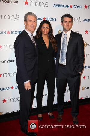 Todd Lungren, Camila Alves and Chris Marvin