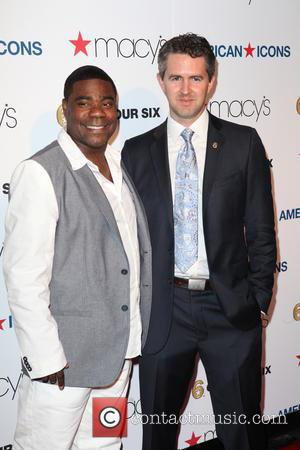 Tracy Morgan and Chris Marvin - Macy's 'American Icons' Campaign Launch at Gotham Hall - New York City, NY, United...
