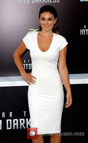 Serinda Swan - Los Angeles Premiere of Paramount Pictures' 'Star Trek Into Darkness' held at the Dolby Theater in Hollywood...