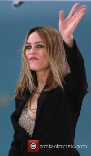 Vanessa Paradis - Celebrities appear on The Grand Journal during the 66th Cannes Film Festival - Cannes, France - Wednesday...