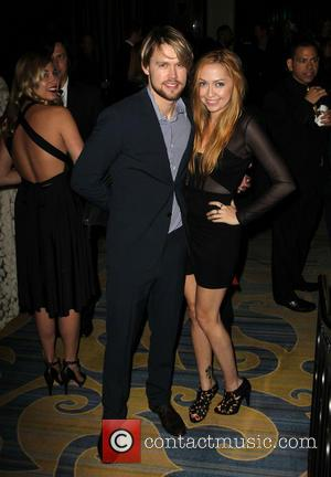 Chord Overstreet and Brandi Glenn Cyrus - 61st Annual BMI Pop Awards held at the Regent Beverly Wilshire Hotel -...