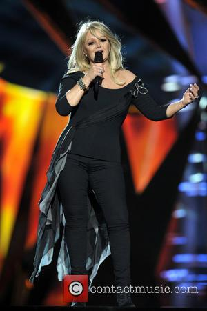 Bonnie Tyler - Bonnie Tyler rehearsing during the Eurovision Song Contest 2013 - Malmo, Sweden - Wednesday 15th May 2013