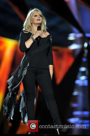 Bonnie Tyler - Bonnie Tyler rehearsing during Eurovision