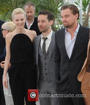 Carey Mulligan, Tobey Maguire and Leonardo Dicaprio