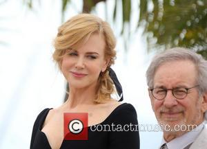 Nicole Kidman and Steven Spielberg
