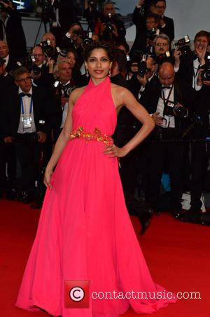 Freida Pinto - 66th Cannes Film Festival - 'The Great Gatsby' - Opening Ceremony - Cannes, France - Wednesday 15th...
