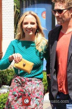 Anne Heche - Celebrities at The Grove to appear on entertainment news show 'Extra' - Los Angeles, CA, United States...