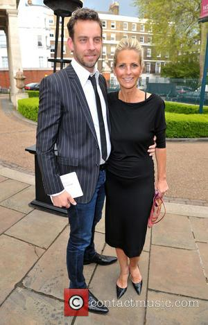 Ulrika Jonsson and Brian Monet - Hello! Magazine 25th Birthday Party- Outside Arrivals - London, United Kingdom - Wednesday 15th...