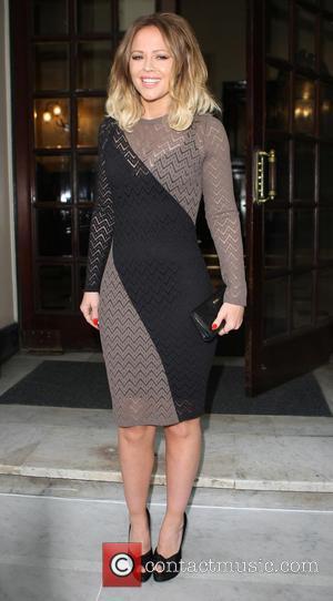 Kimberley Walsh - Kimberley Walsh arriving at the Royal Theatre - London, United Kingdom - Wednesday 15th May 2013