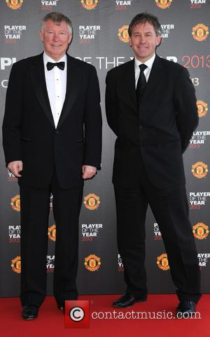 Sir Alex Ferguson and Brian Robson - Manchester United Player of the Year Awards held in the Sir Alex Ferguson...