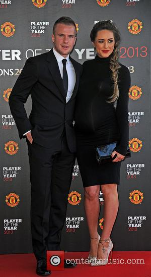 Tom Cleverly and Georgina Dorsett - Manchester United Player of the Year Awards held in the Sir Alex Ferguson Stand...