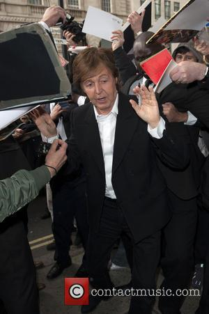 Sir Paul McCartney - held at BAFTA - Arrivals - London, United Kingdom - Wednesday 15th May 2013
