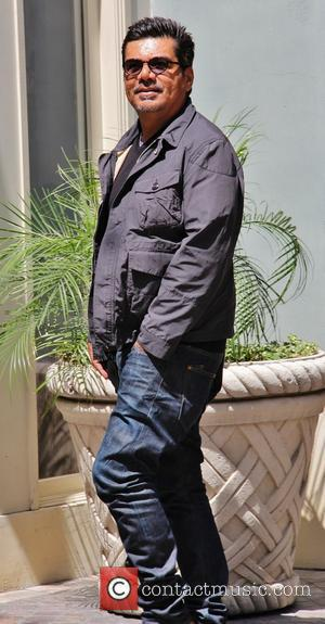 George Lopez - Celebrities at The Grove in Los Angeles to film EXTRA - Hollywood, California, United States - Wednesday...