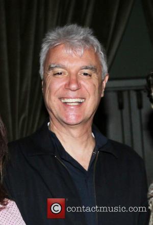 David Byrne - Mickey Boardman fundraiser for CITTA at the Soho Grand Hotel - New York, NY, United States -...
