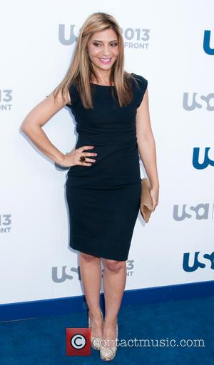 Callie Thorne - 2013 USA Network Upfronts held at Pier 36 - Arrivals - New York City, United States -...