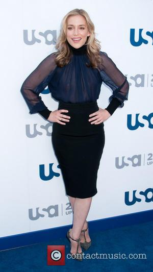 Piper Perabo - 2013 USA Network Upfronts held at Pier 36 - Arrivals - New York City, United States -...