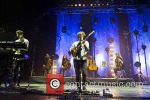 Alt-J, Gus Unger-Hamilton and Joe Newman - Alt-J performing live at Brixton Academy - London, United Kingdom - Thursday 16th...