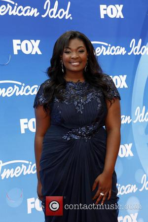 Candice Glover - 'American Idol' Finale Results Show live at the Nokia Theatre- Arrivals - Los Angeles, CA, United States...