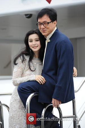 Fan Bingbing and Jackie Chan