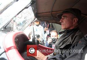 Daniel Day-Lewis - Oscar winner Daniel Day-Lewis prepares to take part in the 2013 Mille Miglia road race driving a...