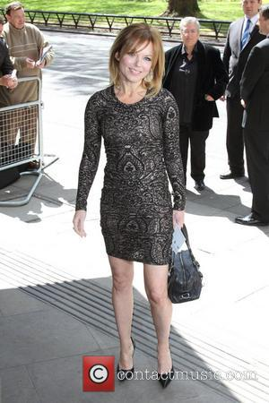 Geri Halliwell Tests New Music On Daughter