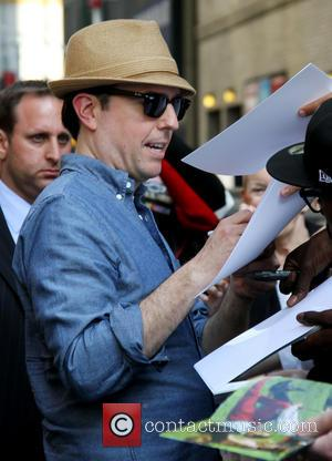 Ed Helms - Celebrities outside the Ed Sullivan Theater for 'The Late Show with David Letterman' - New York City,...