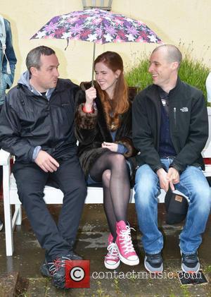 Stuart Carolan, Tom Vaughan Lawlor and Susan Loughnane