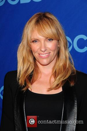Toni Collette - CBS Upfront held at the Lincoln Center in New York City - New York, NY, United States...