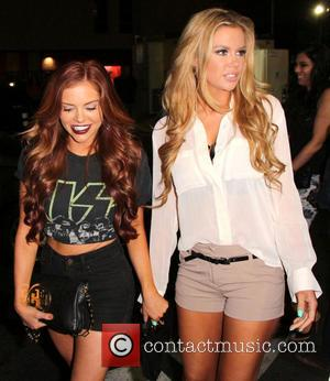 Kayla Collins and Jessa Hinton - Kayla Collins and Jessa Hinton arrive at Blok nightclub in Hollywood - Los Angeles,...