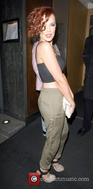 Maria Fowler - Celebrities seen out at Nobu Berkeley - London, United Kingdom - Thursday 16th May 2013