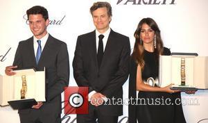 Jeremy Irvine, Colin Firth and Blanca Suarez