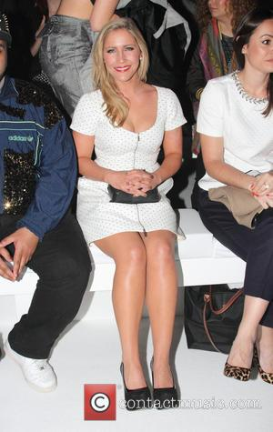 Heidi Range - F&F autumn/winter 2013 collection showcase at Somerset House - Front Row - London, United Kingdom - Thursday...
