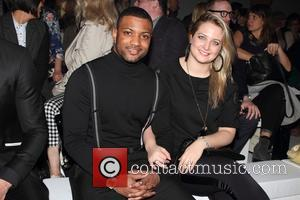 JB Gill and Chloe Tangney - F&F autumn/winter 2013 collection showcase at Somerset House - Front Row - London, United...