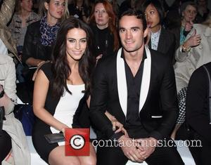 Jessica Lowndes and Thom Evans - F&F autumn/winter 2013 collection showcase at Somerset House - Front Row - London, United...