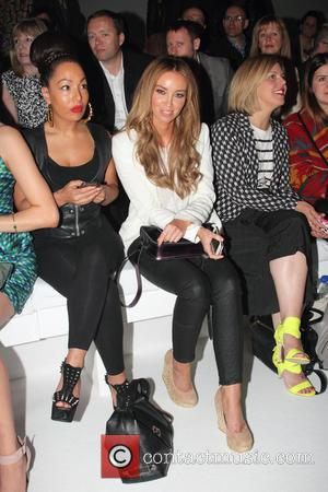 Lauren Pope - F&F autumn/winter 2013 collection showcase at Somerset House - Front Row - London, United Kingdom - Thursday...