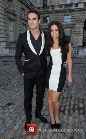 Jessica Lowndes and Thom Evans - F&F Autumn/Winter 2013 Collection Showcase held at Somerset House - Outside Arrivals - London,...