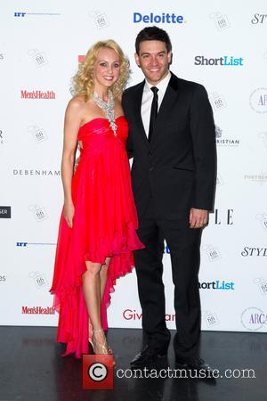 Camilla Dallerup and Kevin Sacre - The FiFi UK Fragrance Awards 2013 held at The Brewery - Arrivals - London,...