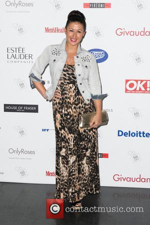 Hayley Tamaddon - The FiFi UK Fragrance Awards 2013 held at The Brewery - Arrivals - London, United Kingdom -...