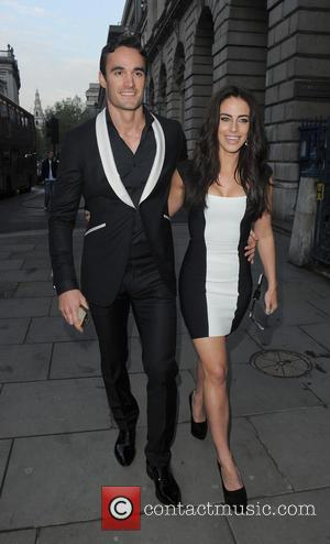 Jessica Lowndes and Thom Evans - F&F Autumn/Winter 2013 Collection Showcase held at Somerset House - Departures - London, United...
