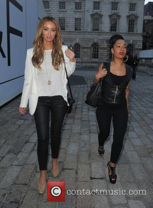 Lauren Pope - F&F Autumn/Winter 2013 Collection Showcase held at Somerset House - Departures - London, United Kingdom - Thursday...